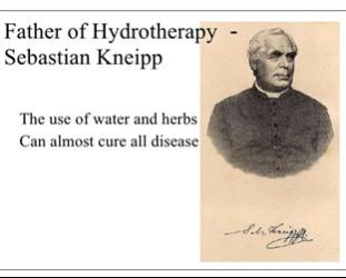Lịch sử của thủy trị liệu